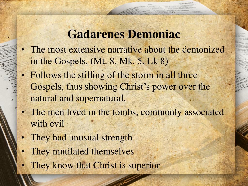 Gadarenes Demoniac