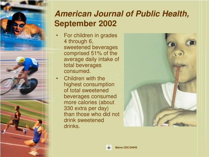 American Journal of Public Health,