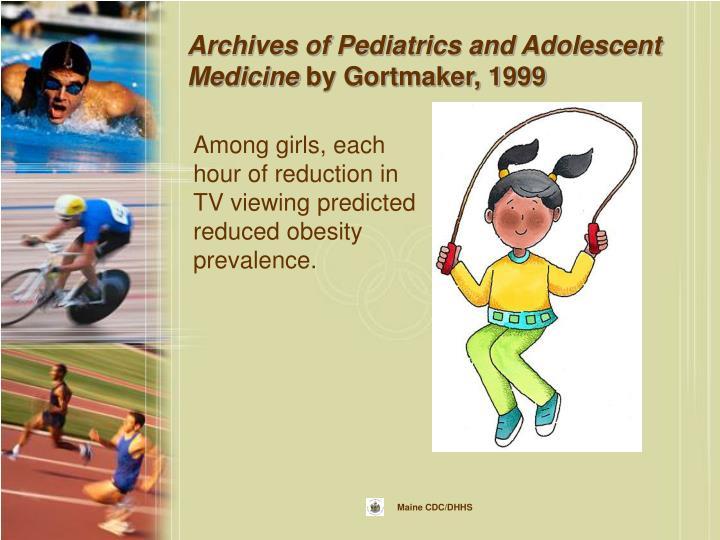 Archives of Pediatrics and Adolescent Medicine