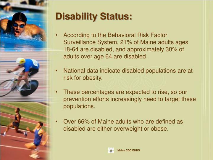Disability Status: