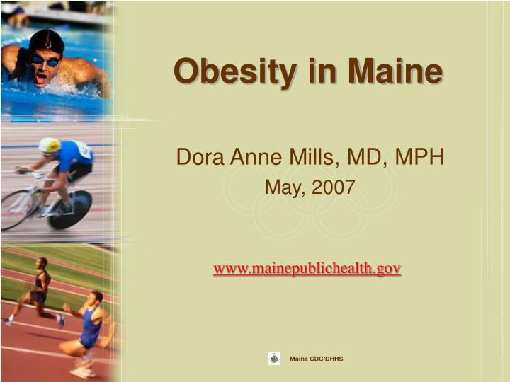 obesity in maine n.