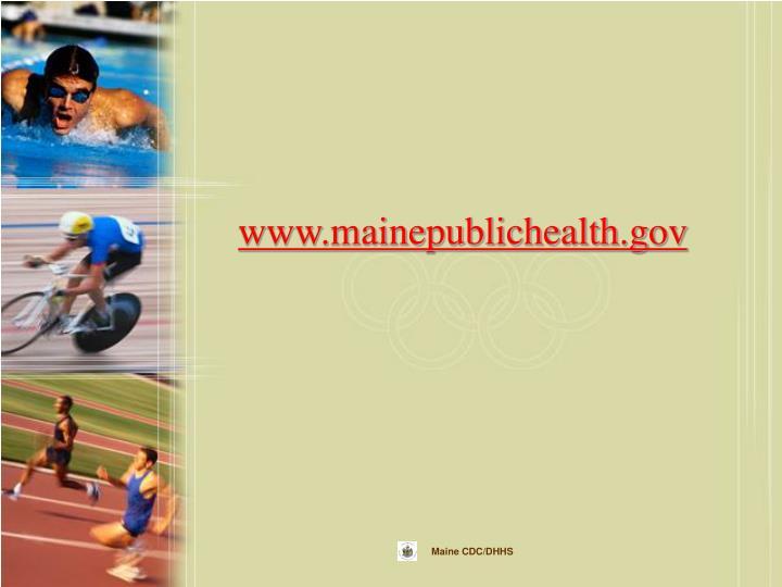 www.mainepublichealth.gov