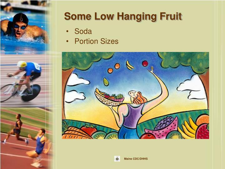 Some Low Hanging Fruit