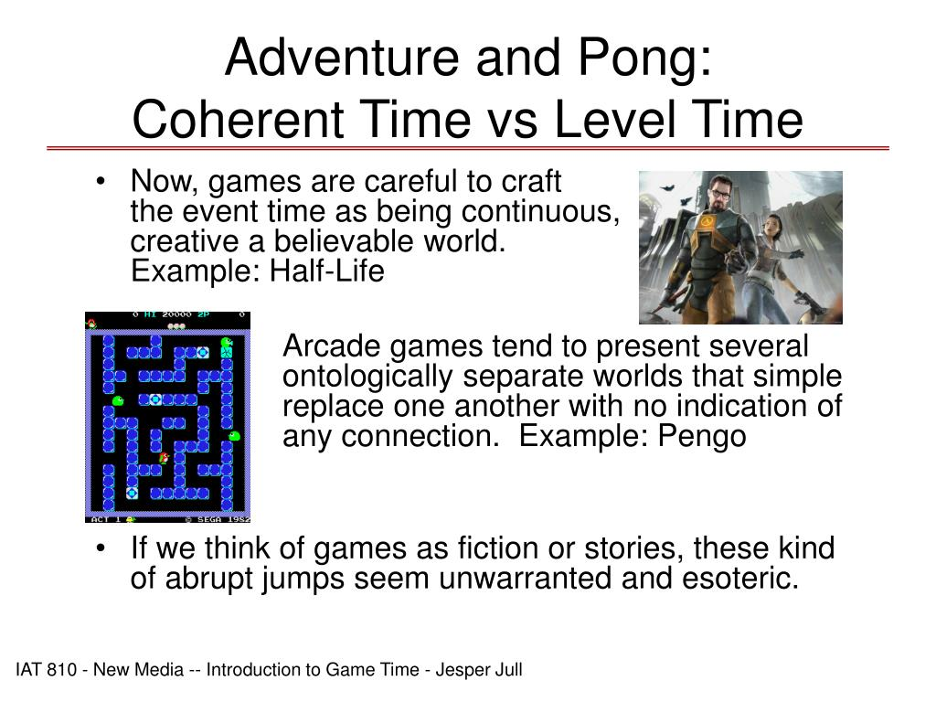 Adventure and Pong: