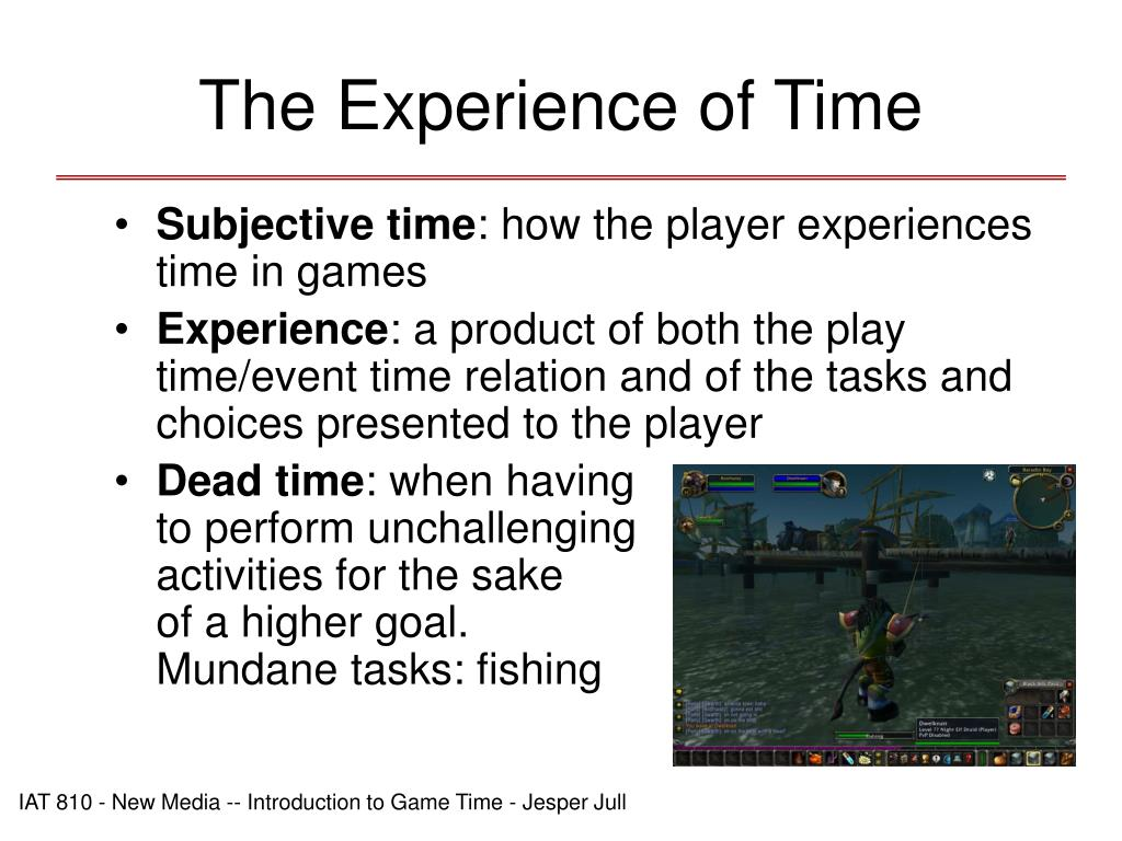 The Experience of Time