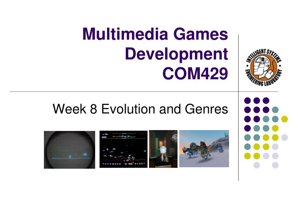 multimedia games development com429 l.