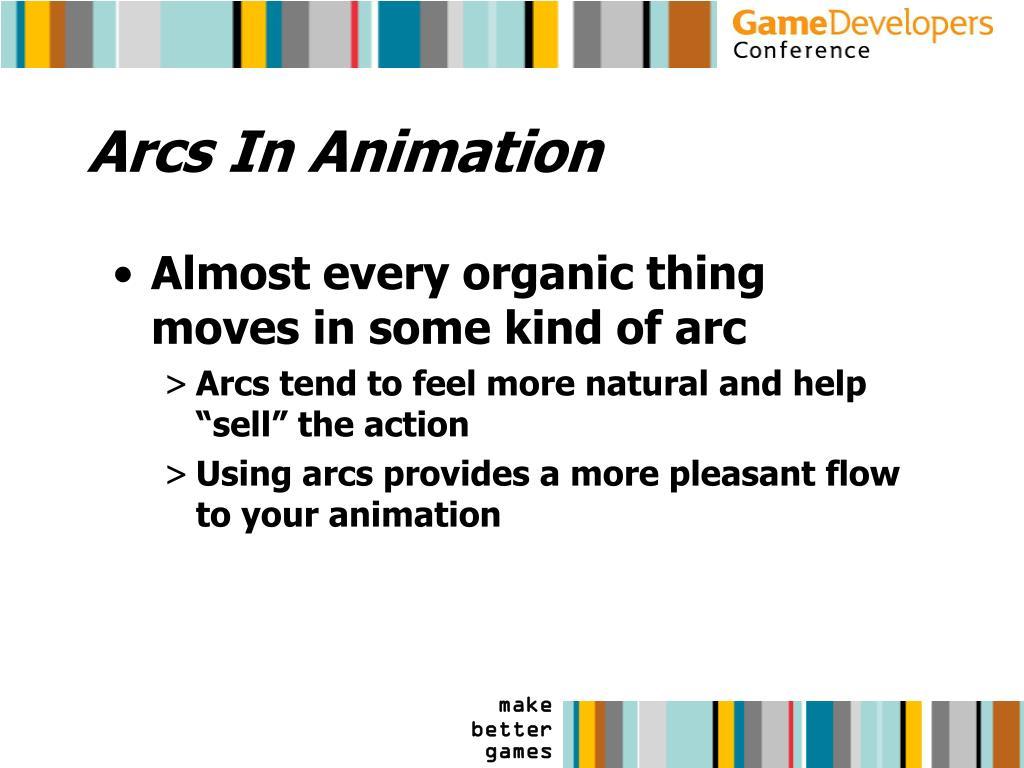 Arcs In Animation