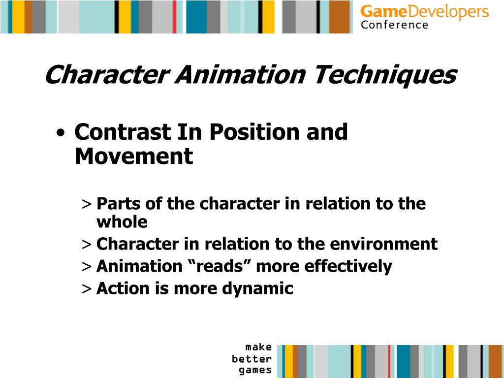 Character Animation Techniques