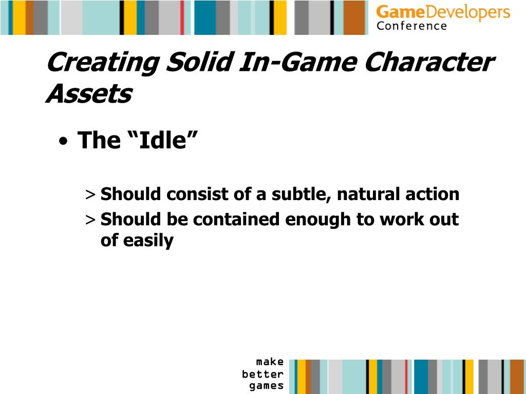 Creating Solid In-Game Character Assets