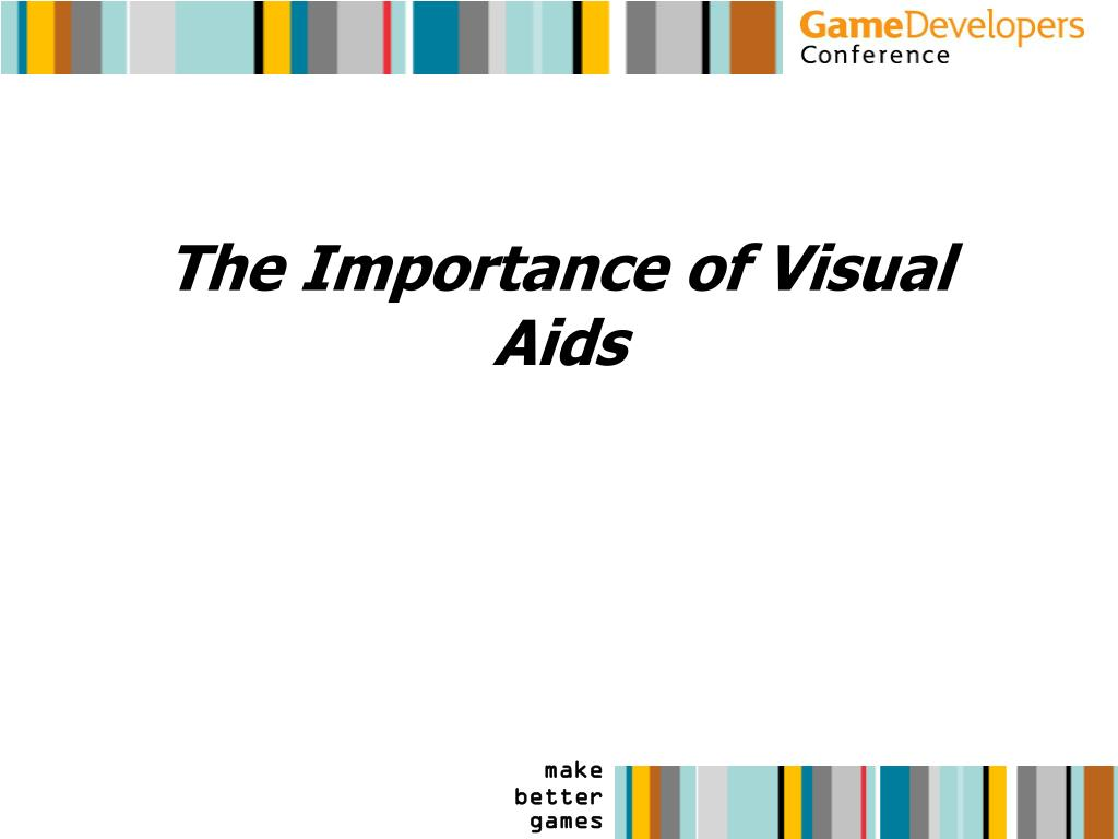 The Importance of Visual Aids