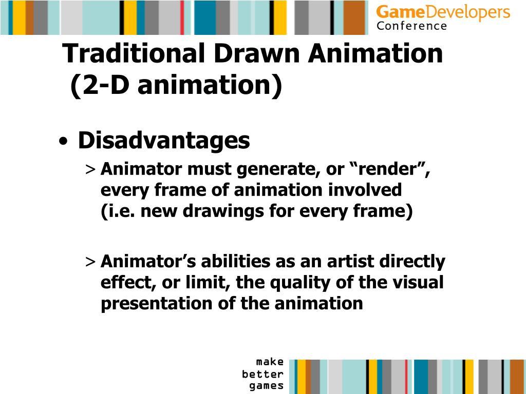 Traditional Drawn Animation