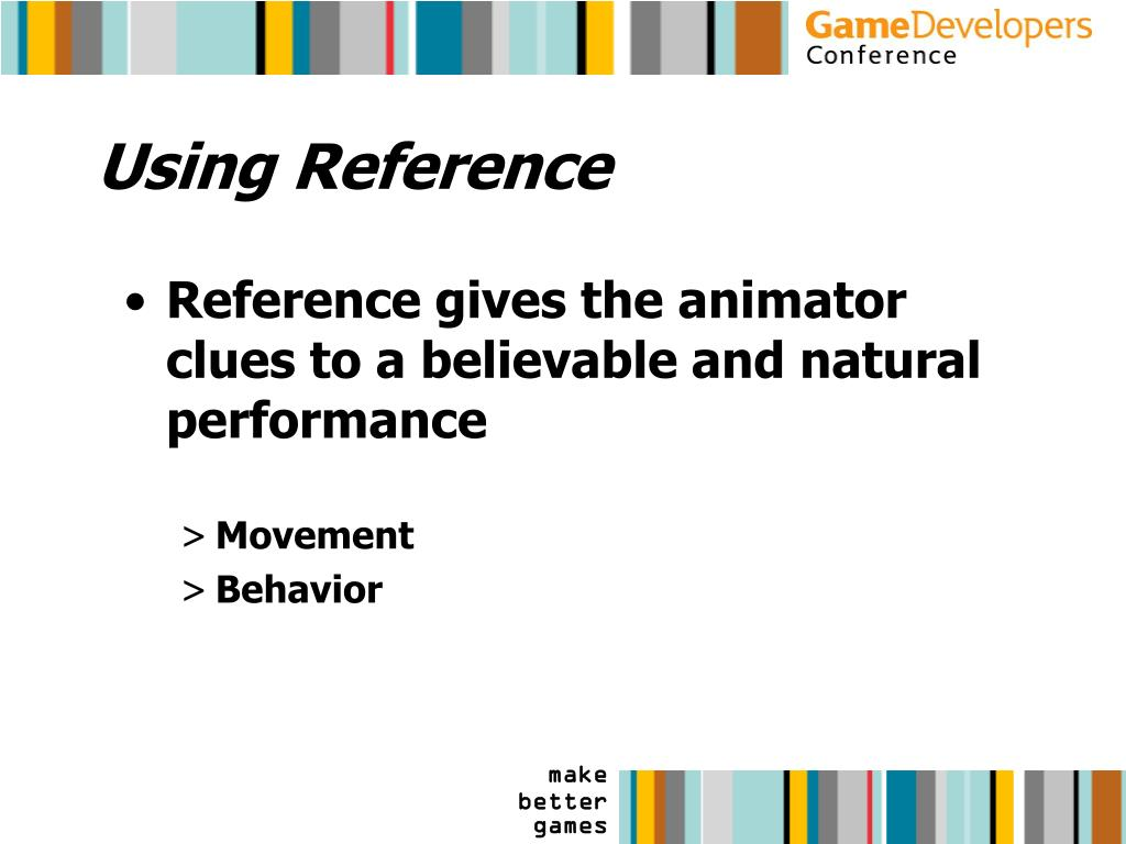 Using Reference