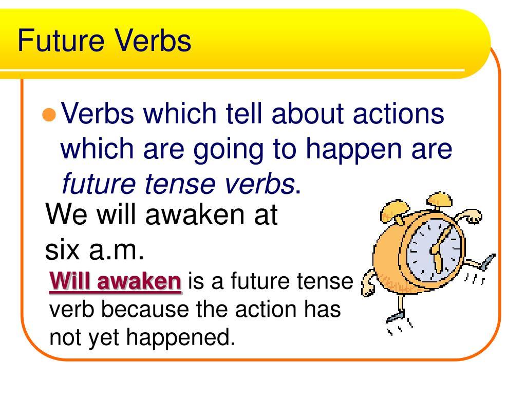 Future Verbs