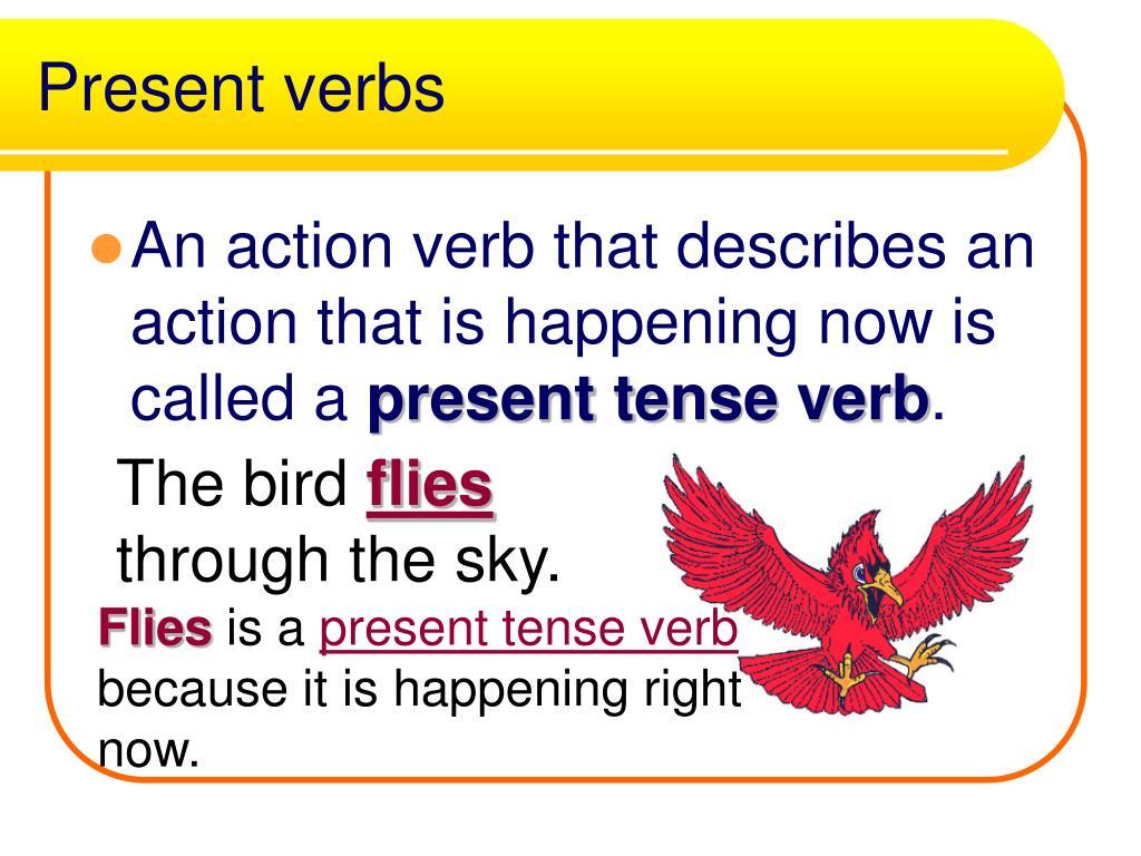 Present verbs