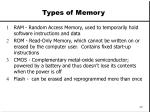 types of memory25