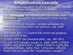 amplification cascade