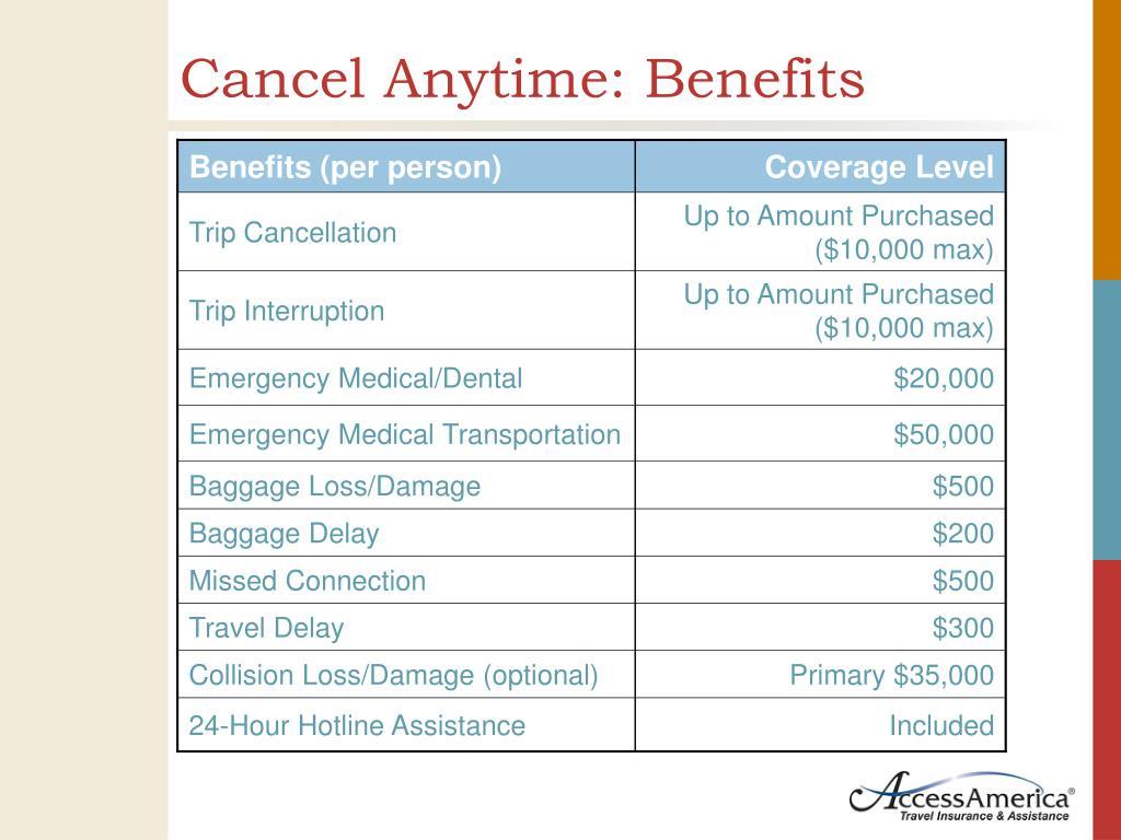 Cancel Anytime: Benefits