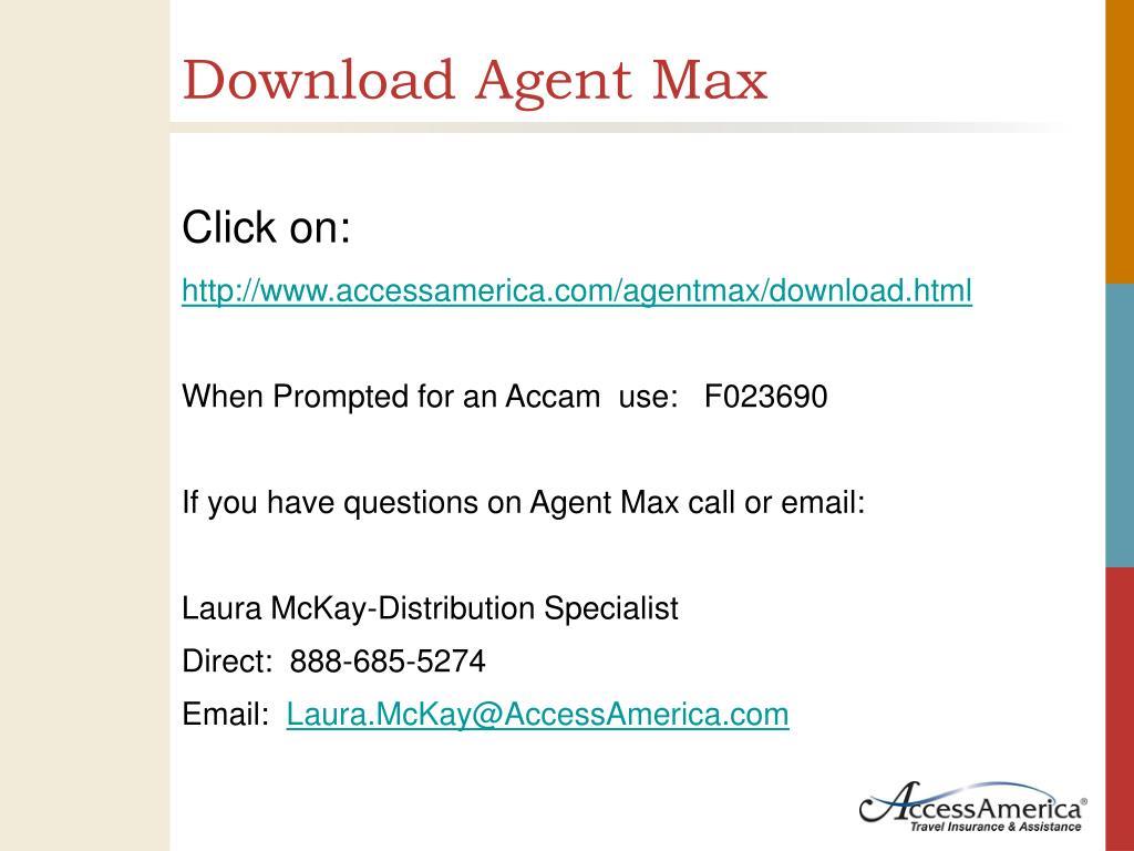 Download Agent Max