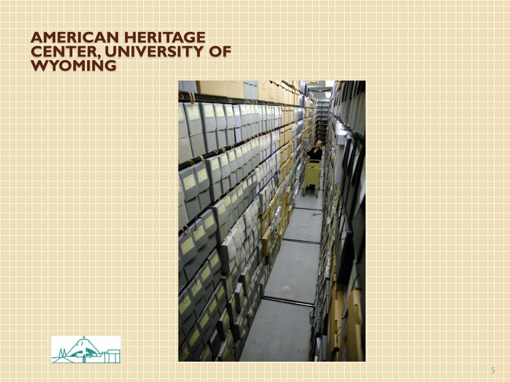 American heritage center, university of Wyoming