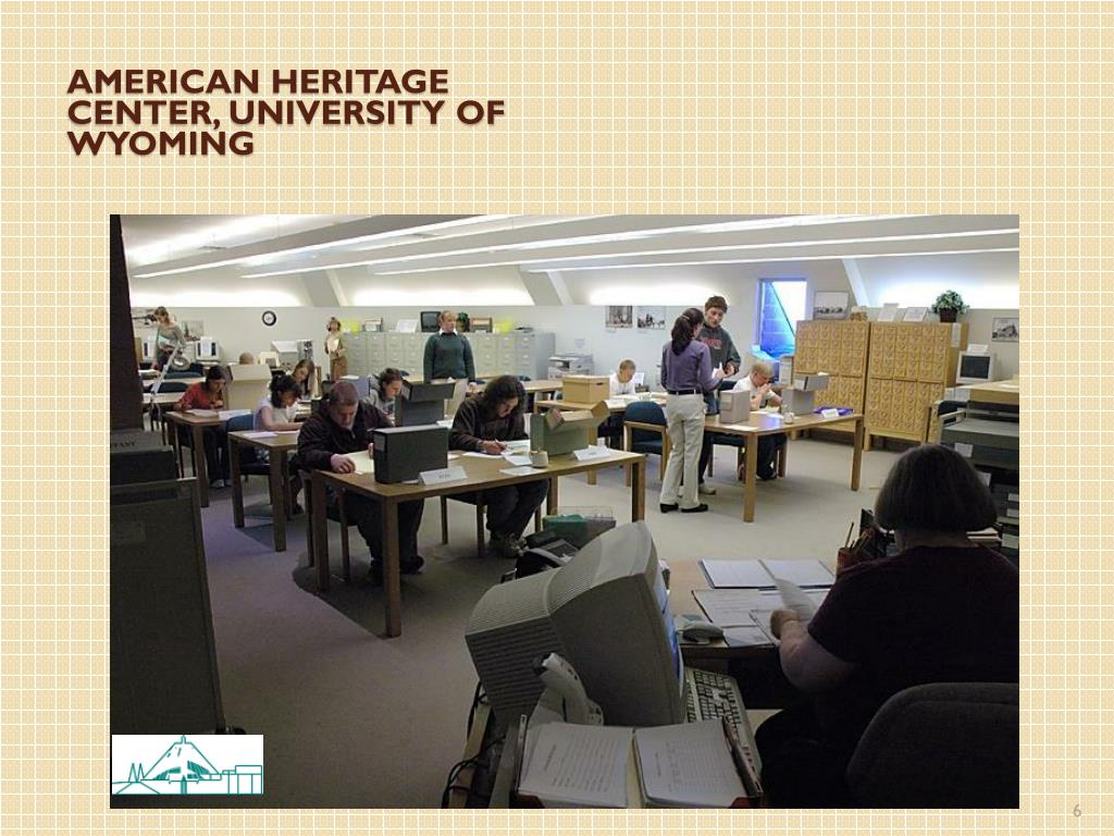 American heritage center, university of