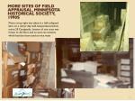 more sites of field appraisal minnesota historical society 1990s