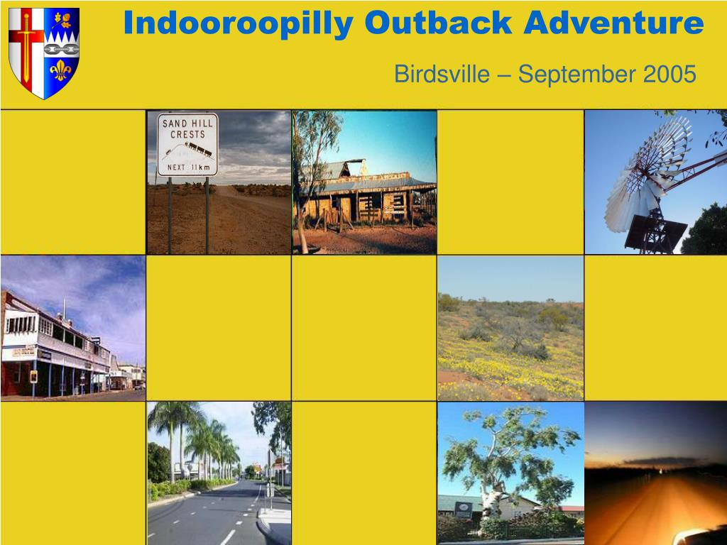 indooroopilly outback adventure l.