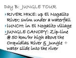day b jungle tour