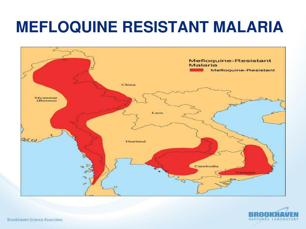 MEFLOQUINE RESISTANT MALARIA