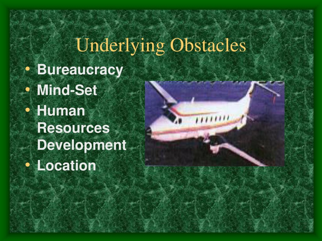 Underlying Obstacles