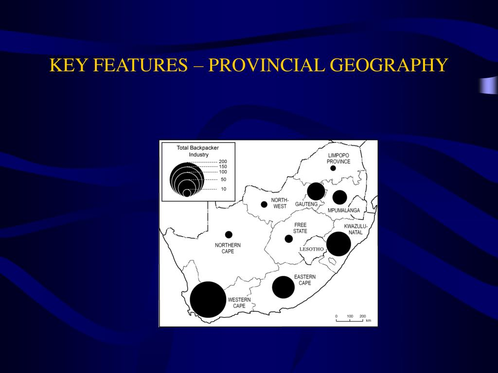 KEY FEATURES – PROVINCIAL GEOGRAPHY