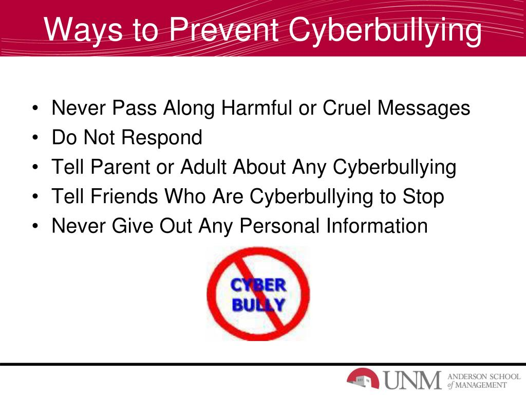 Ways to Prevent Cyberbullying