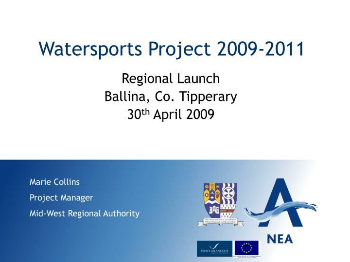 Watersports project 2009 2011