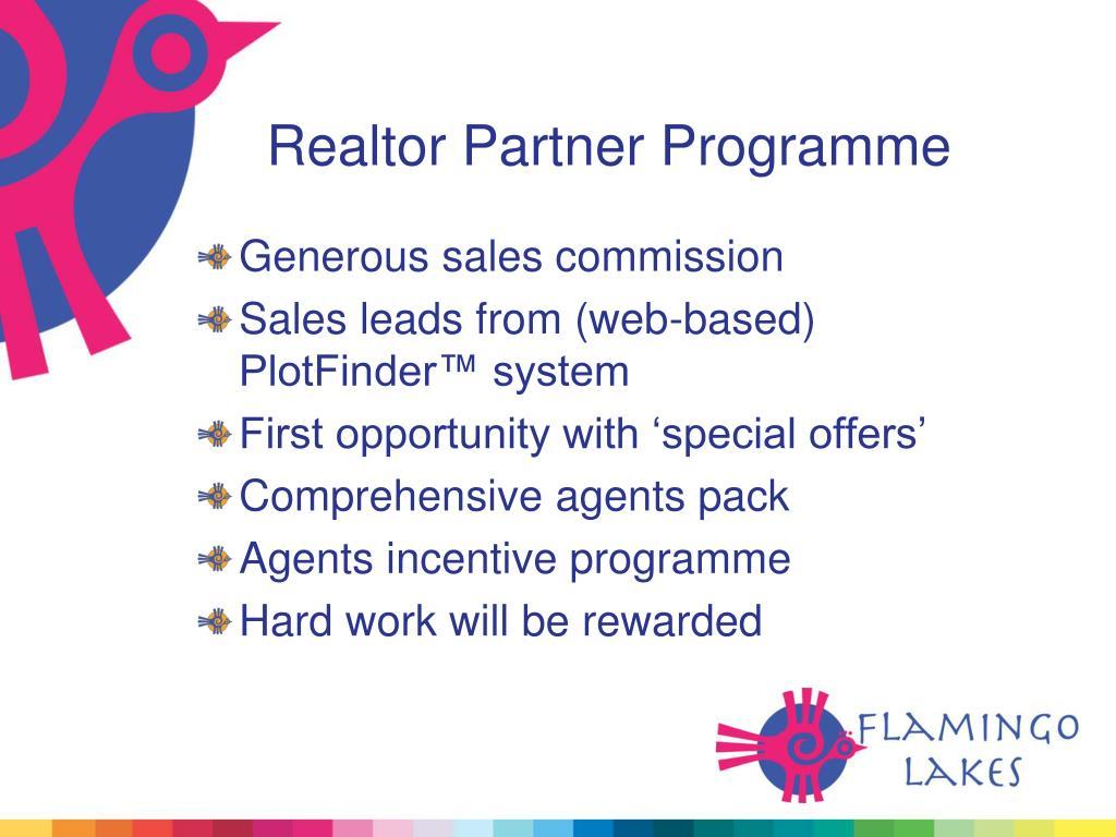 Realtor Partner Programme