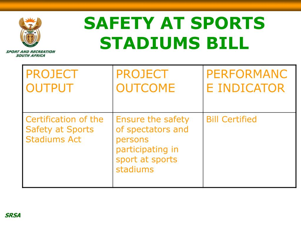 SAFETY AT SPORTS