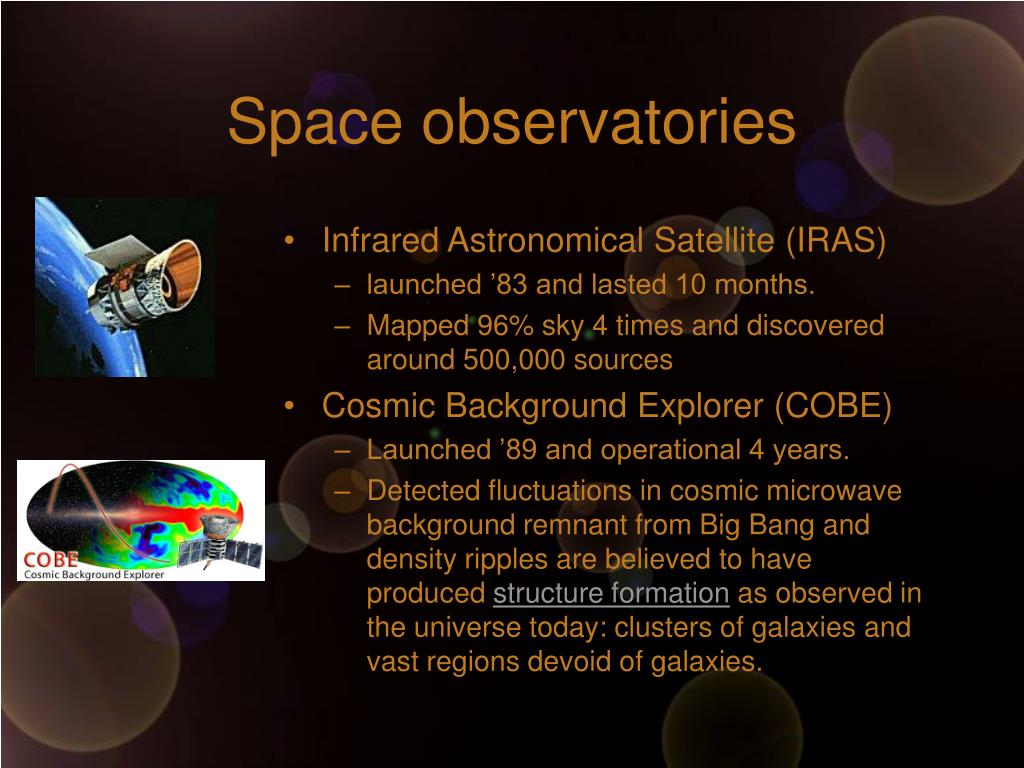 Space observatories
