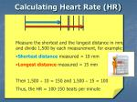 calculating heart rate hr25