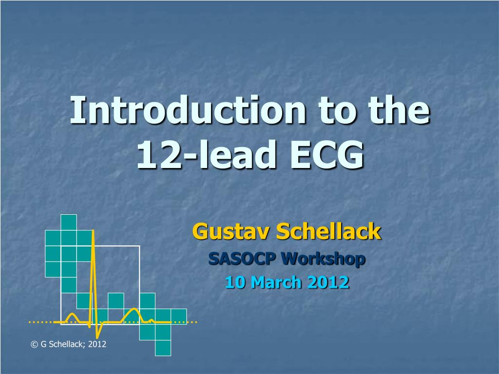 introduction to the 12 lead ecg l.
