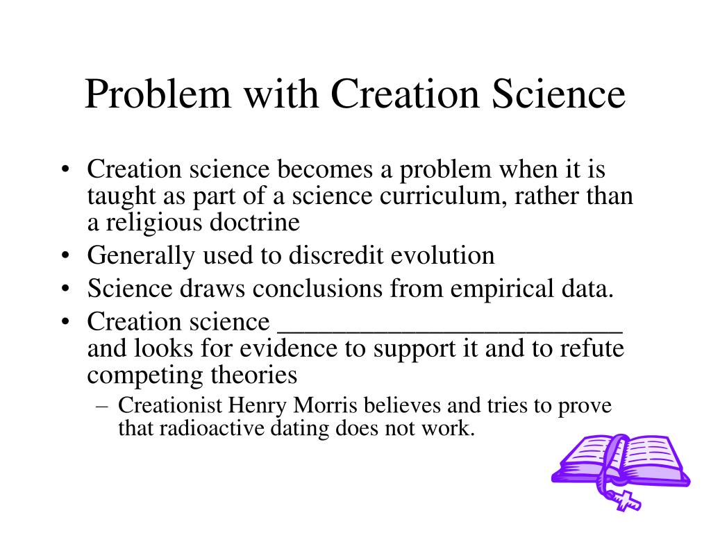Problem with Creation Science