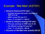 example wal mart 4 27 012