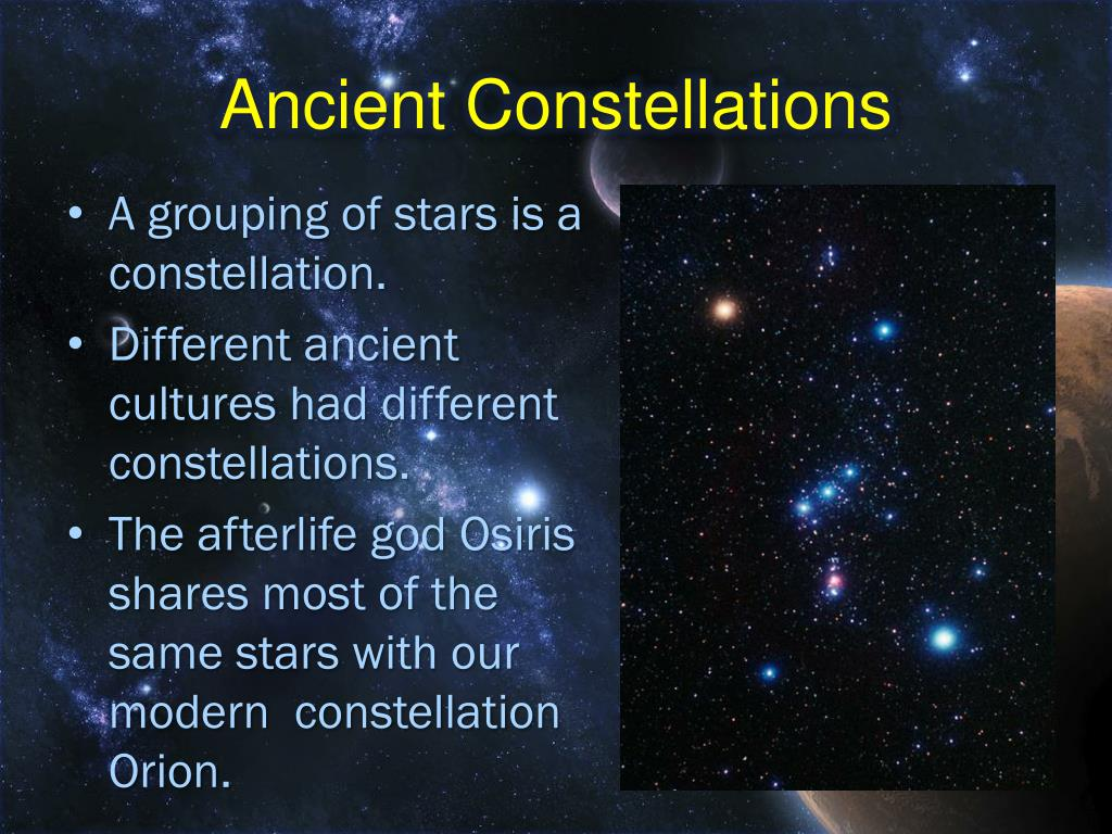 Ancient Constellations