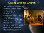 galileo and the church