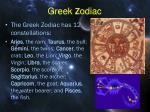 greek z odiac