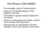the olmecs 1200 300bc