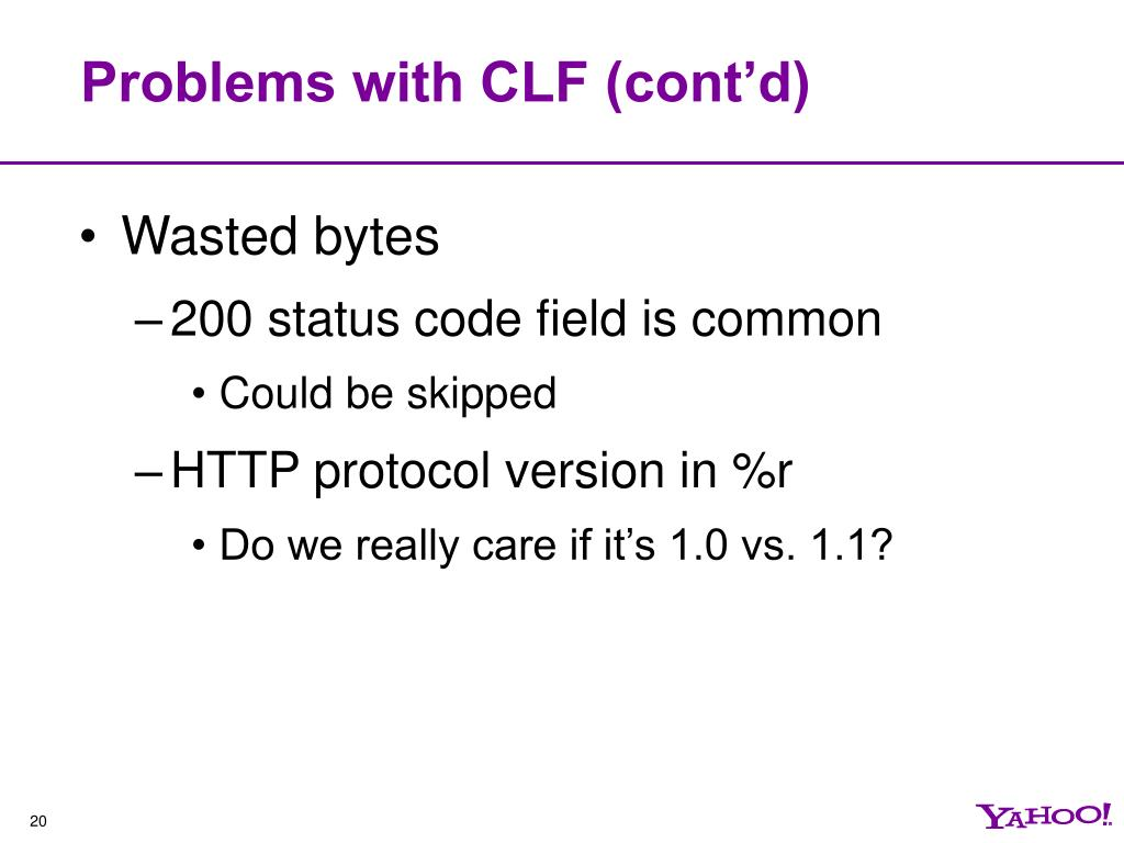 Problems with CLF (cont'd)