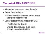 the prefork mpm r00lz 1 1