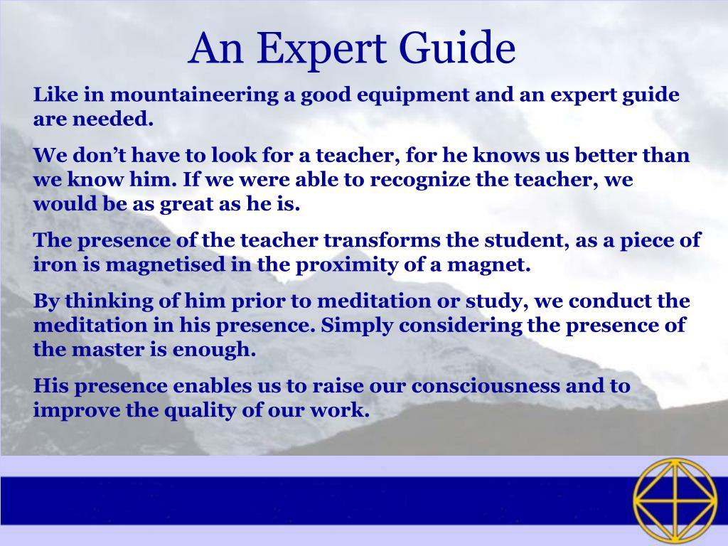 An Expert Guide