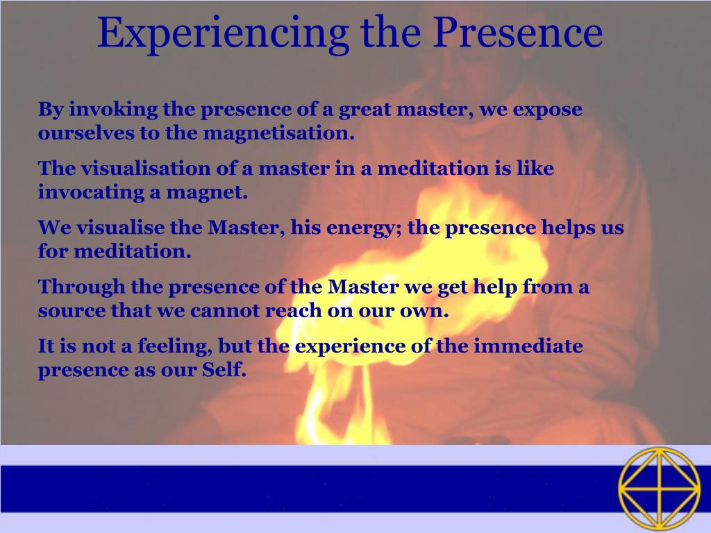 Experiencing the Presence