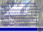 the world teacher trust