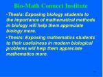 bio math connect institute1