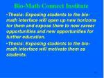 bio math connect institute2